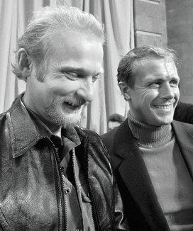 На фото В. Балыбердин и Эдуард Мысловский